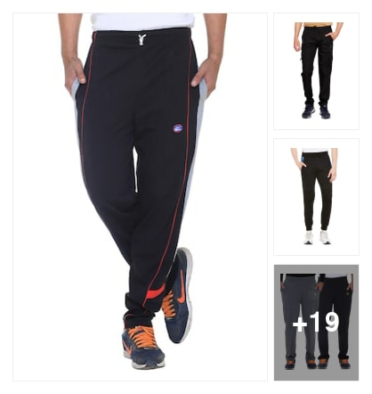 Trackpants. Online shopping look by keerthi