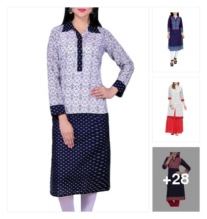 Trending New Arrival Kurtas. Online shopping look by Dharam