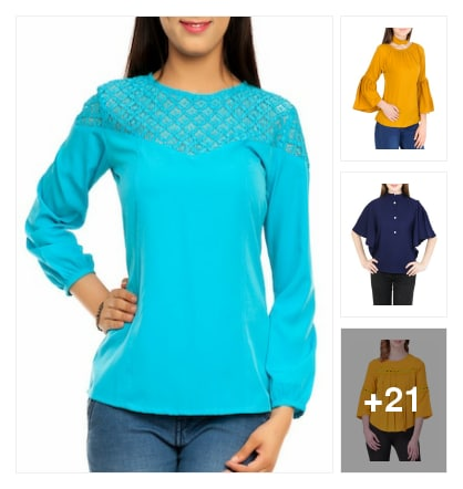 Trendy Tops. Online shopping look by AmarGupta