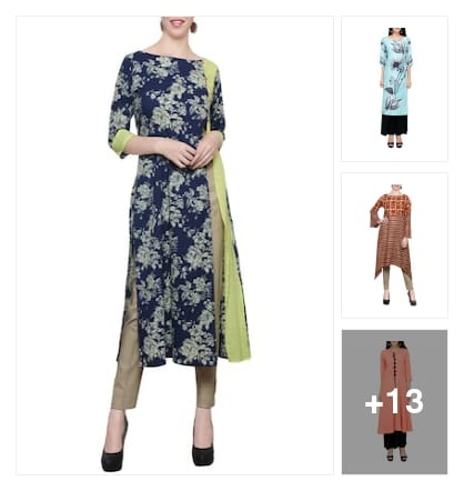 Wonderful Kurtas For Beautiful . Online shopping look by AmarGupta