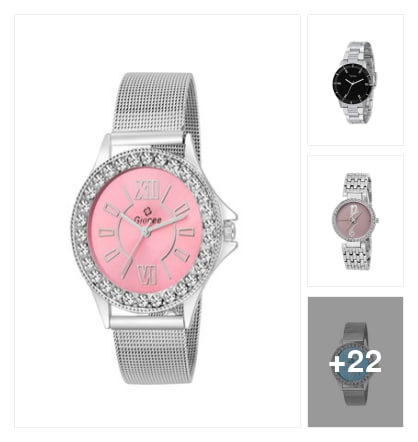 Watches. Online shopping look by keerthi