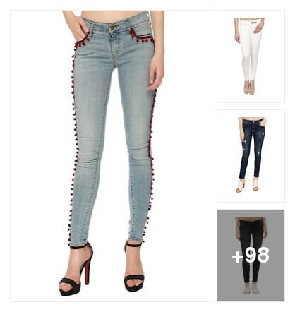 JEANS&JEGGINGS. Online shopping look by vihaan