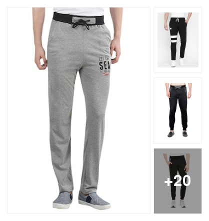 trackpants. Online shopping look by sambha
