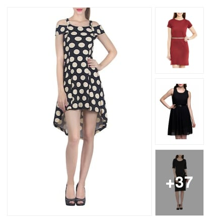 #Party wear dresses. Online shopping look by Sushma