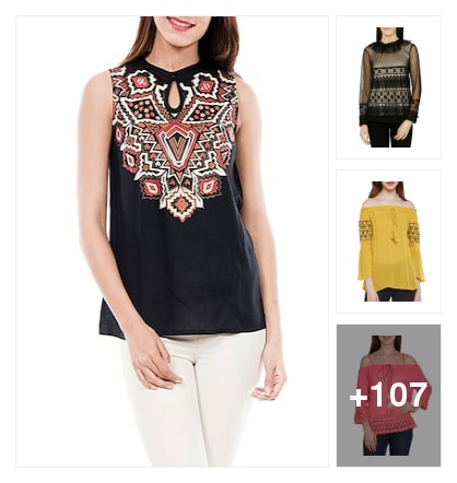 Stylishhhh tops. Online shopping look by jyoti