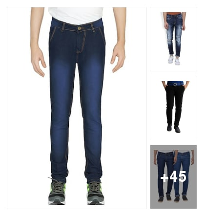 Jeans for ever. Online shopping look by vicky