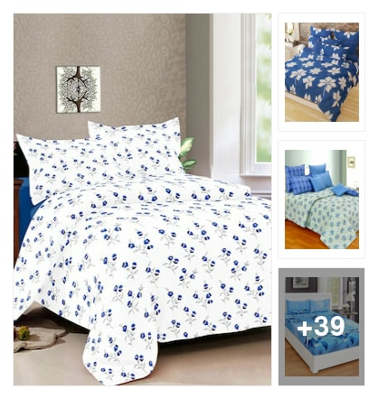 bedsheet !!!. Online shopping look by Pooja
