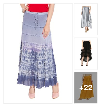 Skirts. Online shopping look by Koppula