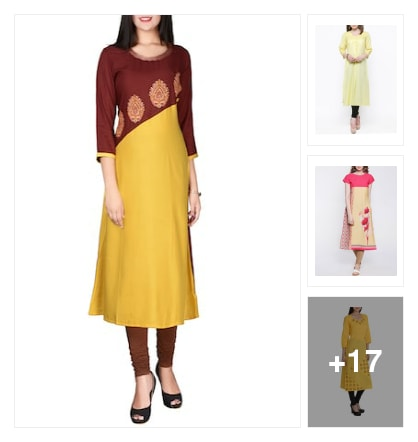 yellow kurta book. Online shopping look by r
