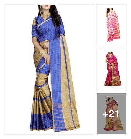 Cotton sarees. Online shopping look by keerthi