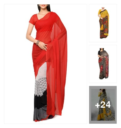 Sarees collection. Online shopping look by Supreme