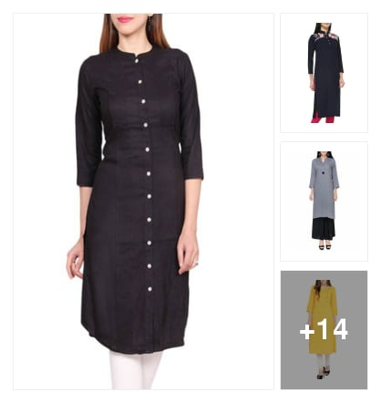 Kurtas for fashion girls. Online shopping look by Supreme