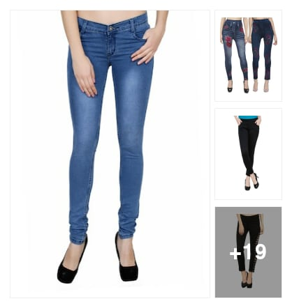 Jeans and jeggings . Online shopping look by Supreme