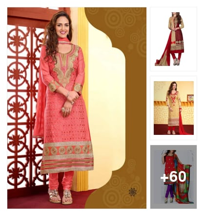 Cotton dress metiriyals reasonable price . Online shopping look by kalpana