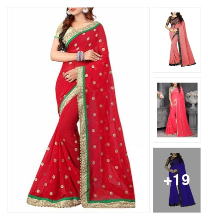 Sarees😬😬😬😬😬. Online shopping look by keerthi