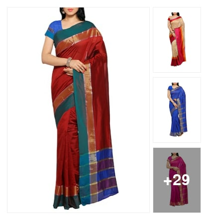 Today trading saree. Online shopping look by chinna