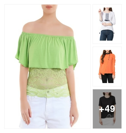 Stylish layered tops. Online shopping look by sreekanth
