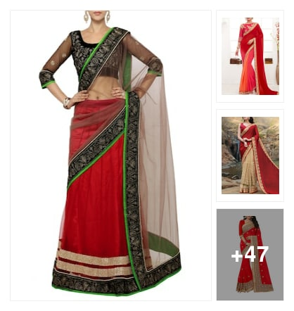 Trendy Red. Online shopping look by 💚❤Padmini❤💚