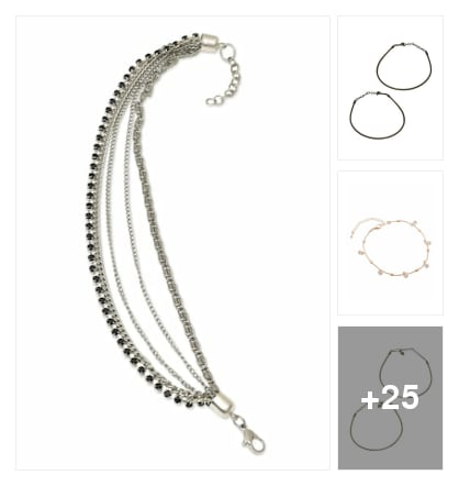 IMPRESSIVE  ANKLETS;PAYALS FOR GIRLS. Online shopping look by buddy