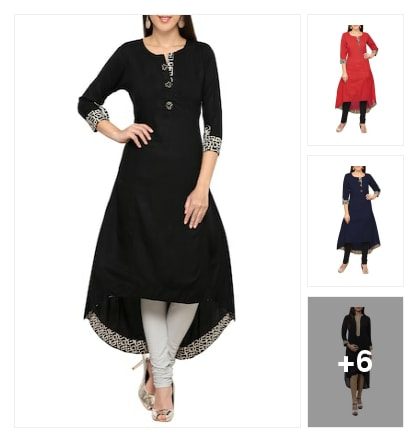 Attractive collections kurtas. Online shopping look by muthula
