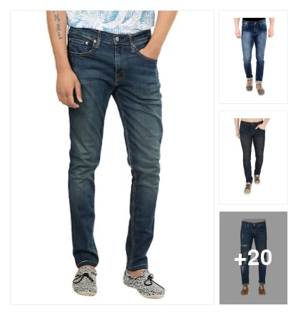 Latest jeans. Online shopping look by mansi
