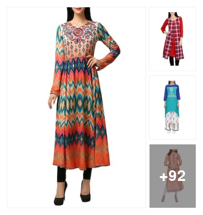 SMART KURTAS&KURTIS. Online shopping look by vihaan