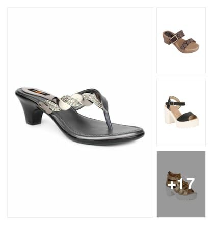 Sandals. Online shopping look by keerthi