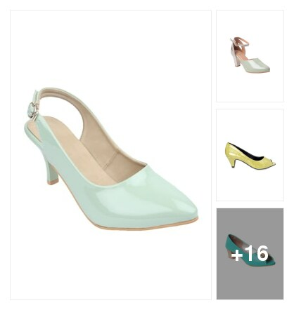 Minty marvels . Online shopping look by Harika