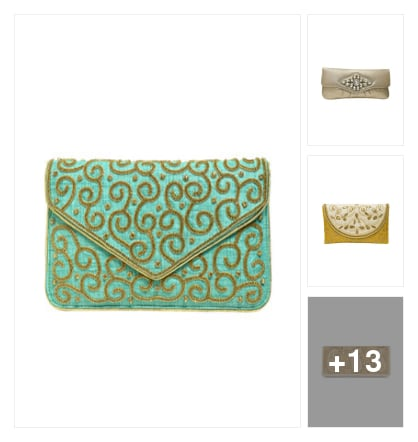 Ethnic clutches. Online shopping look by jyoti