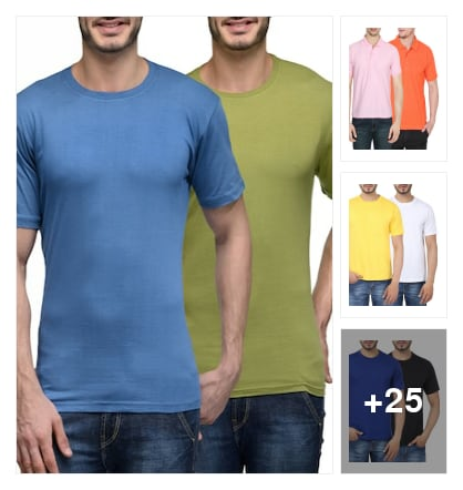 T SHIRTS FOR MEN. Online shopping look by cvenkataraghavendra
