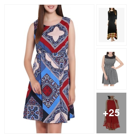 Dresses. Online shopping look by Manasvini