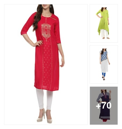 Kurtas Collotions Are Here. Online shopping look by Sandhya