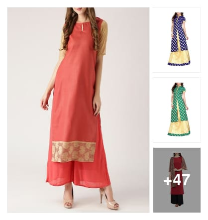Kurta Sets. Online shopping look by greeta