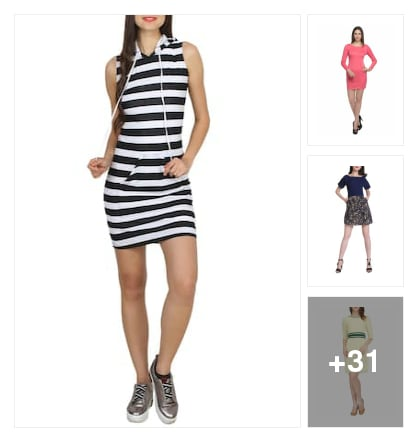 dress. Online shopping look by Pooja
