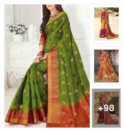 The Fashion Attire sarees. Online shopping look by VC