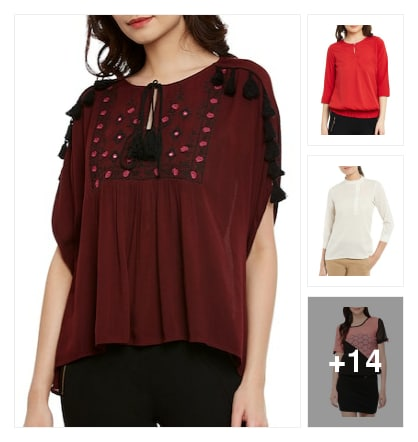 Tops for ladies. Online shopping look by sujatha