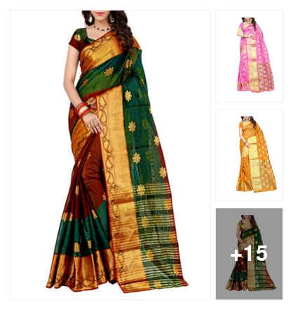 Beautiful Banarasi Sarees for beautiful ladies. Online shopping look by goutam
