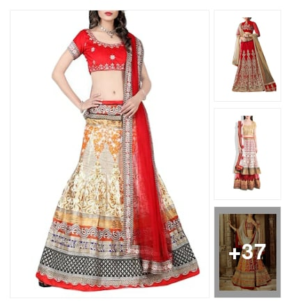 Hottest Wedding Lehenga. Online shopping look by Ria