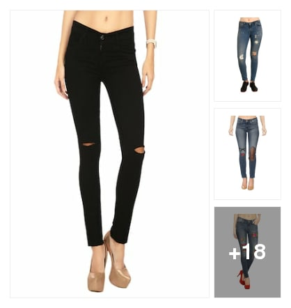 Jeans. Online shopping look by Afrin