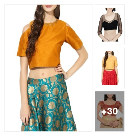 Blouses. Online shopping look by sujatha