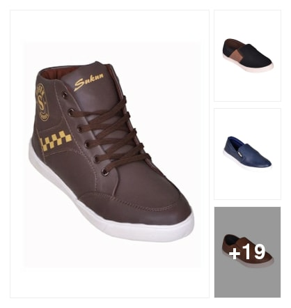 Snukun branded casual shoes under 499 for every one . Online shopping look by lingamdhinne