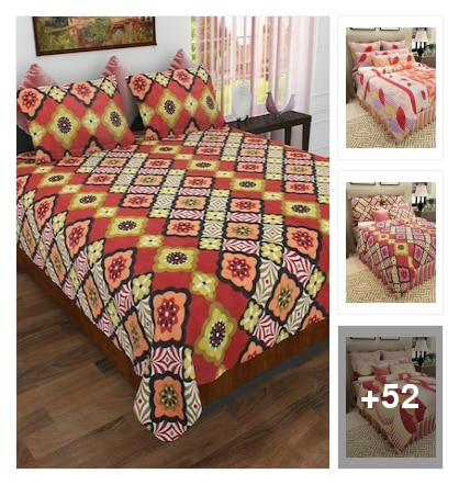 73%off on these bedsheets. Online shopping look by A.radha