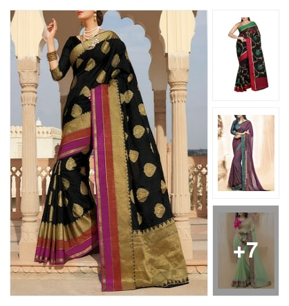 function wear sarees. Online shopping look by vennila