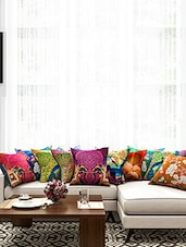 Printed Cotton Cushion Cover ( Set Of 10) - By