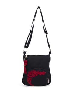 Black Small Sling Bag - Pick Pocket