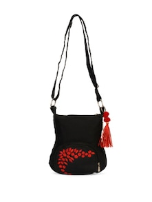 Black Small Sling Bag - Pick Pocket