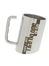 """Because I'm Like No One Else"" Quoted Inclined Mug - Hot Muggs"