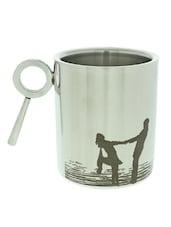 """No Words To Say What You Mean To Me"" Quoted Mug - Hot Muggs"