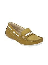 Green Leatherette Loafers & Mocassins - By