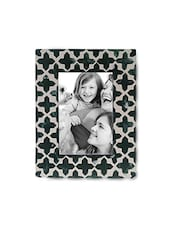Green And White Resin Photo Frame - By